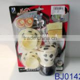 Plastic toy preschool educational toy baby toy coffee cup model set