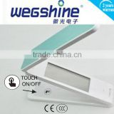 High Quality Foldable input:AC100~240V output:DC12V Led Table Light CRI>80 Alarm/Calender/Thermometer