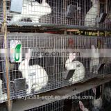 3 tiers 12 rabbits large rabbit cages indoor breeding sold to Russia