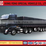 dongfeng vehicles EQ9401 Van tank semi trailer truck made in china manufacturing for sale