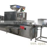 oat chocolate molding machine Crispy rice chocolate peanut Red beans truffles chocolate making machine