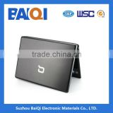 Laptop PC top cover metal protective film ,stainless steel film