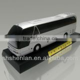1 43 metal bus toy, high simulation model supplier, bus miniature business gift
