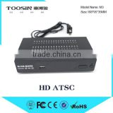 ATSC converter box transmitter tuner digital tv box,HD ATSC stb with good quality, ATSC box
