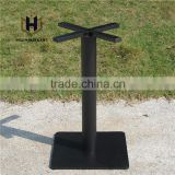 INquiry about Black square table base, Cast iron table feet, modern coffee dining legs