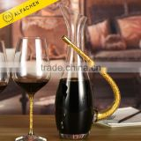 Unique Wine Glass Crystal Jug Whiskey Decanter