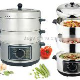 New Pattern Stainless Steel Electric Cooking Pots Large Cooking Pots Steamer Pot Collapsible Cooking Pot