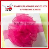 colorful handmade carnation flower ribbon for the mothers' day gift packing