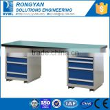 steel work bench with drawers/ tool workbench