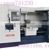 CNC pipe thread lathe CKG1319E CKG(E) Series with four-position electric turret from Taian Haishu