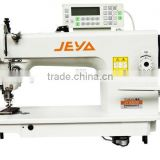 JY0303D double synchronous heavy duty computer lockstitch used sewing machine motor foot pedal price