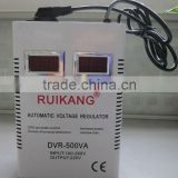DVR-1500VA wall mount stabilizer ac voltage regulator 80% power relay type home electrical stabilizer 220V 50Hz