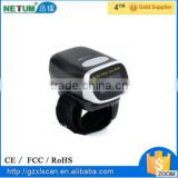 Newly Launched: NT-F002 2D mini bluetooth ring barcode scanner support Android & IOS system