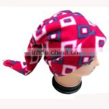 popular fashion teenager multi color christmas cute polar fleece scarf beanie gloves set