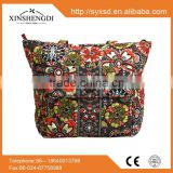 High quality cotton beautiful quilted hipster insulated ladies oem tosoco handbag price