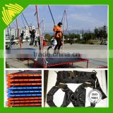 Elastic rope for bungee jumping cord bungee trampoline for sale