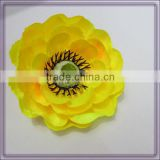 wholesale camellia silk flower heads from china (AM-F-57)