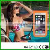 New design promotional sport PVC waterproof smartphone case with armband for iPhone 6 /6plus and for iphone7