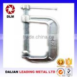 OEM ductile cast iron casting steel thread rod slide bar woodworking H-shaped purlin clamping apparatus C Clamps