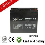 12v 17ah agm solar battery