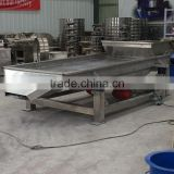 Used for chemicals carbon fertilizer carbon steel linear gravel shaker screen price