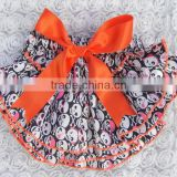 Hollaween bloomers for kids wholesale baby satin bloomer Kapu ruffle panties baby panties bloomer