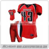 Wholesale custom design youth american football uniforms jersey for man