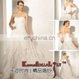1463 Brand new products taffeta sweetheart neckline beading and ruffle wedding dress drop shipping wedding gowns prom dress 2015