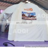 AOQI classical advertising 8 legs inflatable dome tent for sale
