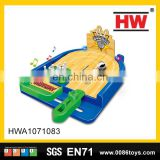 Kids Bowling Ball Game Plastic Bowling Set Toy With Light And Music