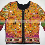 Ethnic Vintage Hand Embroidery Banjara Jackets Indian long sleeves Banjara Jackets Wholesale