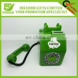 Telephone Shape Logo Printed Money Box