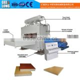 1200T complete plywood making machine with high quality hot press melamine laminating machine