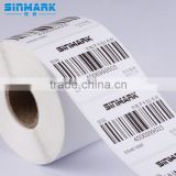 SINMARK E5040.N475 blank eggshell sticker roll,label printing machine roll sticker for roll to roll digital label printing