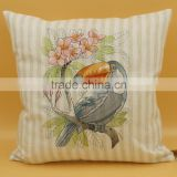 luxury latest design embroidery cushion cover