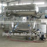 stainless steel double layer suitable meat production full-automatic sterilizing water immersion meat machine