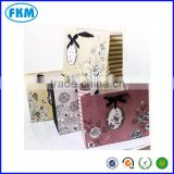 kraft paper Loot bag,flower design party shopping bag handle                                                                         Quality Choice