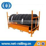Durable iron metal rack for tires storage