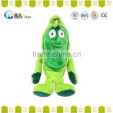 2015 high quantity plush toys Cheap stuffed baby chicks plush plastic toys fruits and vegetables for Kids