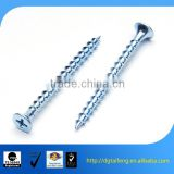 Blue zinc pozi drive self teapping decking screw