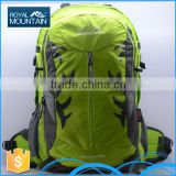 Custom hot sale unisex school hiking Bag 8349 38L new design backpack bag with brand name