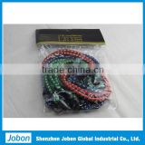 Elastic and polyester bungee cord assortment