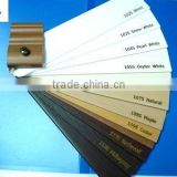WOOD SHUTTER SLATS / PLANTATION SHUTTER COMPONENTS / PVC BLINDS