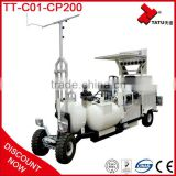 Factory Direct Sell Medium Size Driving-type Cold Plastic (two-component) Road Line Marking Machine
