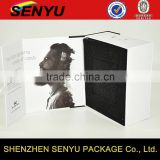 custom logo printed design, high quality and fancy headphone cardboard box packaging                                                                                                         Supplier's Choice