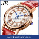 Brand own ladies watches watch stainless steel back water resistant geneva automatic watch