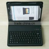 Bluetooth Wireless Keyboard Leather Case smart flip for Samsung Galaxy P6200 Tab