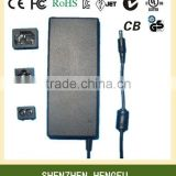 Universal 12V 7A AC DC Power Supply (with UL Approved)