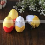 Egg Shaped mini Electric Led Portable Table Lamp