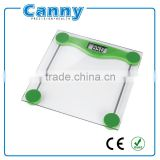 Factory Cheapest Price Clean Glass Bathroom Scale 180kg Weighing Capacity, Digital body weighing scales
